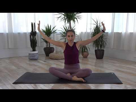 Yoga for Upper Back   Yoga Fundamentals   Short and Sweet Shoulder Release